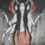 「鬼神」-GNOME -Year,2010 P30 絹本着彩