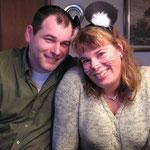 Das sind wir: Georg und Steffi