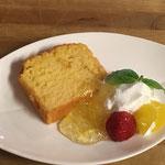 柚蜜のパウンドケーキ