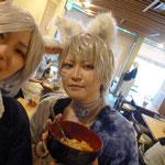 セラさんと、新メンバー(?)の晃さん!賑やかです^^