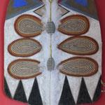 peinture sur sac de café  110x 70