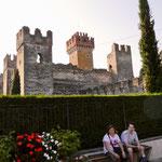Gardasee Lazise Stadtmauer