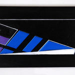 Mural aux six triangles-20x41cm