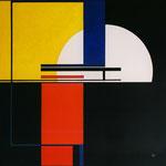 Temps Horizontal - C12 -80 x 80 cm
