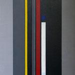 Granite et marbre noir-D11V15- 81x54 cm