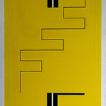 Paravent Jaune A12V14-73x50 cm
