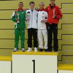 Dominic Rupp rechts 3. Rang