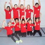 Die Mädchen der Kauferinger Grundschule haben beim Landkreisturnier einen hervorragenden 4. Platz belegt!