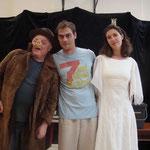 die Schauspieler des Umwelttheaters