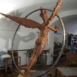 Diosa Fortuna (Modelado 250 x 220 x145 cm)