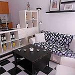 Wohnzimmer Ferienwohnung Costa Calma