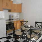 Küche Ferienwohnung mit Eßbereich