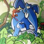 Bild: Grafitti im Schanzenviertel - Bild 1