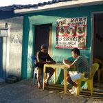 Bild: Arraial d´Ajuna - Straßencafé