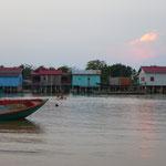 Village de pêcheurs à Koh Rong Samloem