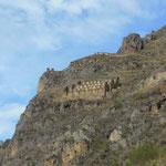 Le site d'Ollantaytambo