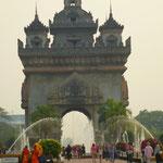 L'arc de triomphe Laotien