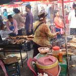 Crab Market à Kep