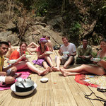 Le petit groupe de 3 jours de trek ^^