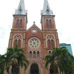 Cathédrale notre dame Ho Chi Minh
