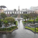 Place centrale du centre historique