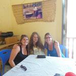 Avec notre chère hôte Lisa
