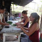 Cours de cuisine: les empenadas aux champignons