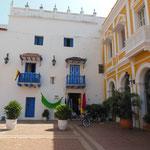 La vielle ville de Carthagène, magnifique !