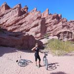 70 km de vélo et vent de face!