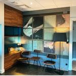 Rénovation d'un office notarial (accueil)