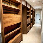 Rénovation d'un office notarial (meuble minutiers)