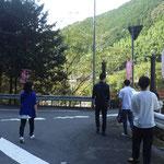 Along Niyodo liver  仁淀川、吾北むささび温泉の近くで (Oct. 2021)
