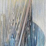 Sinnlos - gib dem Sein noch einmal Sinn / Farbstiftzeichnung / 76 cm x 57 cm / 1995
