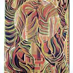 Einigung ? / Linolschnitt / 44 cm x 64 cm / 1997
