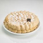 Gâteau meringue praline noisettes  6/8 personnes