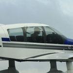 """""""Leader Rouge"""", Chef de patrouille : Philippe Golain, ancien pilote de chasse de l'Armée de l'air"""