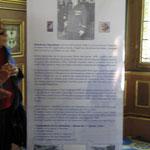 Panneau évoquant la biographie de Gontran Gauthier, réalisé par l'ONAC du Loiret