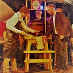 Festlicher Bieranstich mit Bürgermeister Oliver Franz - Foto: KCG Freudenberg