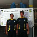 Tennisschule Elias. Luis Elias und Dirk Groth.