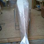 drappage puis stratification d'un 106gr/m²