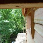 terrase privative - location cabanes dans les arbres
