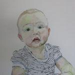 Paula, 50 x 50 cm, Acryl auf Leinen