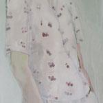 Frühlingskind, 50 x 150 cm, Acryl auf Leinen