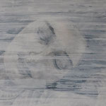 Schlafende, 40 x 50 cm, Acryl auf Leinen