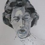 Christiane Keller, 50 x 50 cm, Acryl auf Leinen