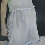 Schwangere, 50 x 150 cm, Acryl auf Leinen