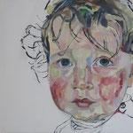 Florentine, 40 x 40 cm, Acryl auf Leinen