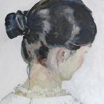 verlorenes Profil, 50 x 40 cm, Acryl auf Leinen