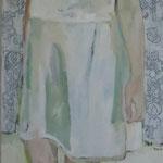 Blütenzeit, 50 x 150 cm, Acryl auf Leinen