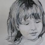 Paula, 60 cm x 60 cm, Acryl auf Leinen